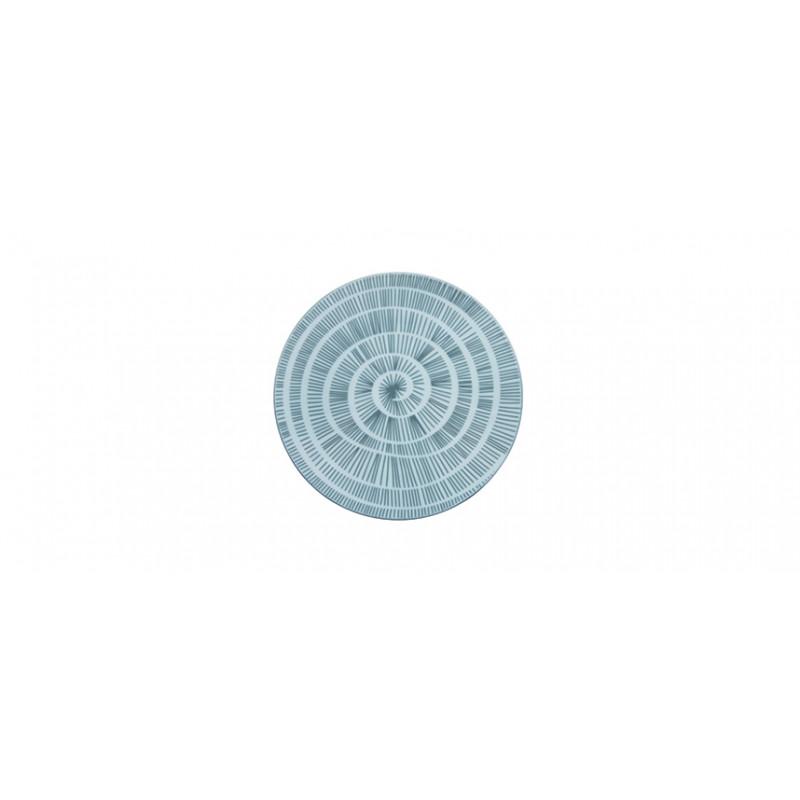 Piatto piano cm 28 Grey Decal Gural