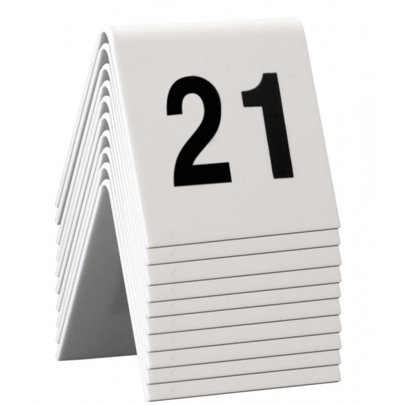 Confezione 10pz numero tavolo 5x4 21-30