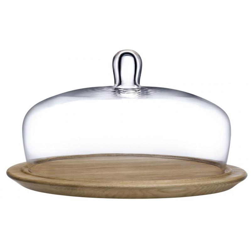 Piatto torta con campana Meringue 27,9 cm