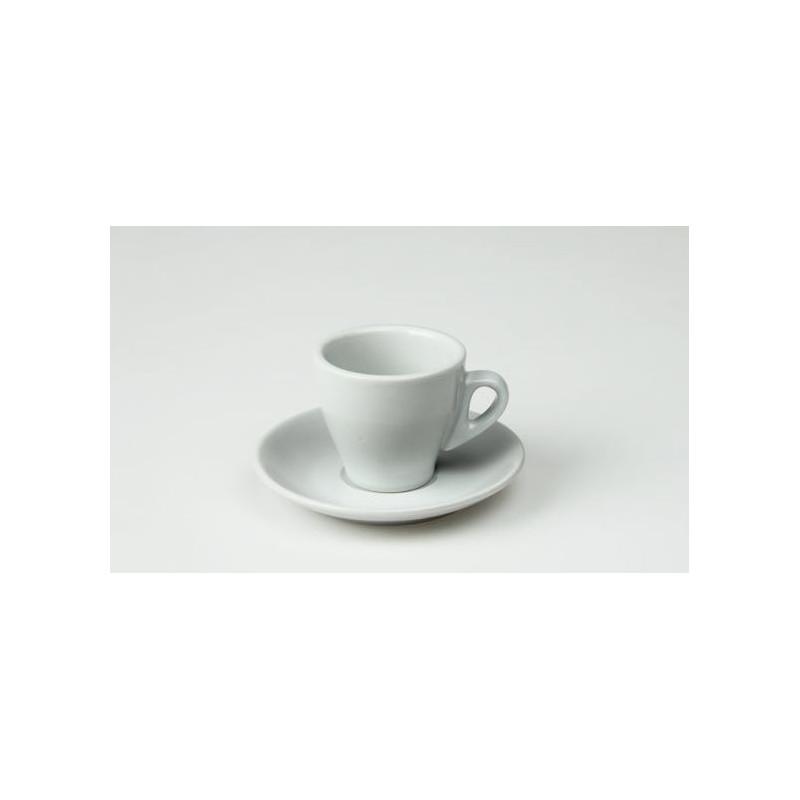 Tazza caffè con piatto cl 9 Pera