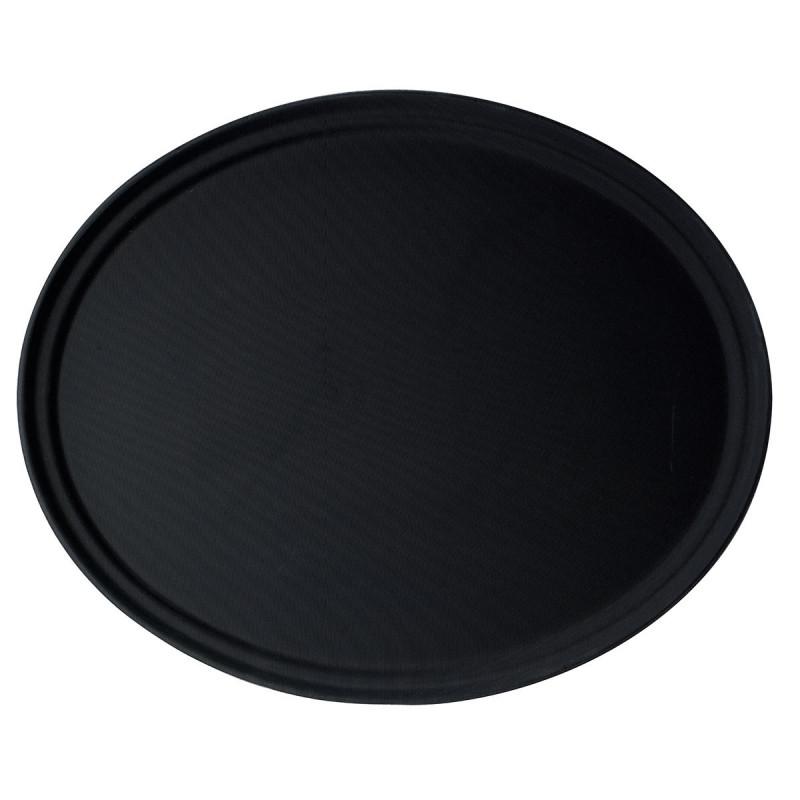 Vassoio ovale Camtread fibra di vetro nero