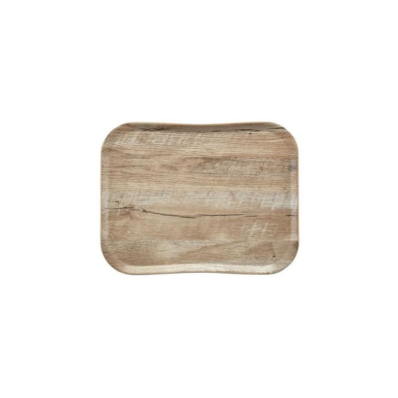 Vassoio woodgrain 33x43 rovere chiaro