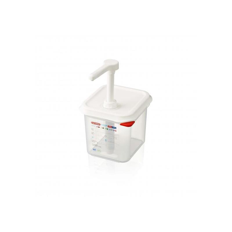 Dispenser per salse GN 1/6 Araven