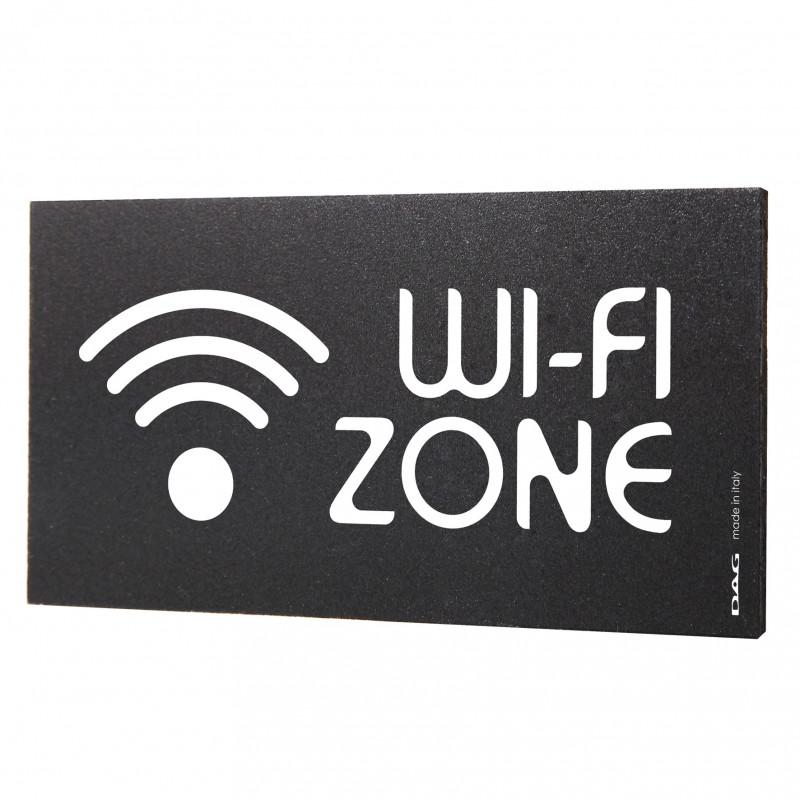 Pittogrammi Wi-fi 8x15 da parete