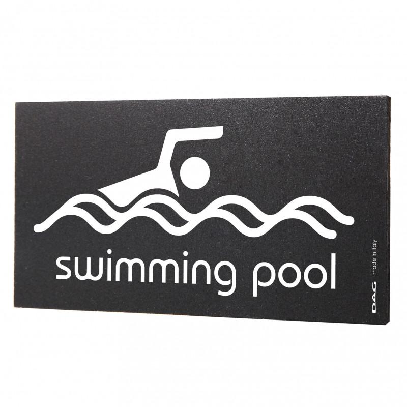 Pittogrammi Swimming Pool 8x15 Da Parete