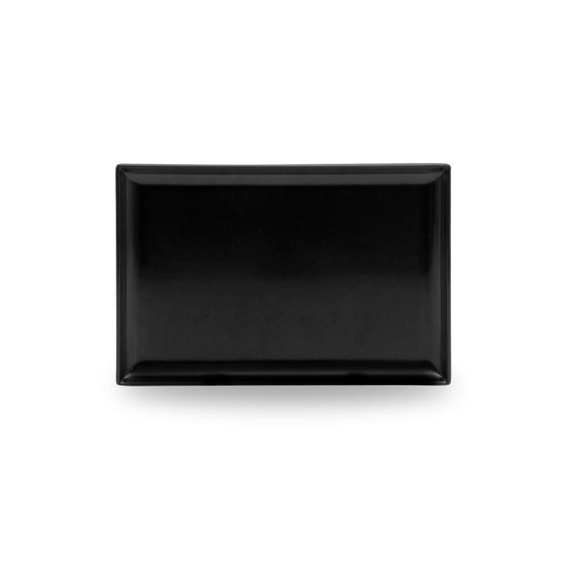 Vassoio rettangolare nero 35x24