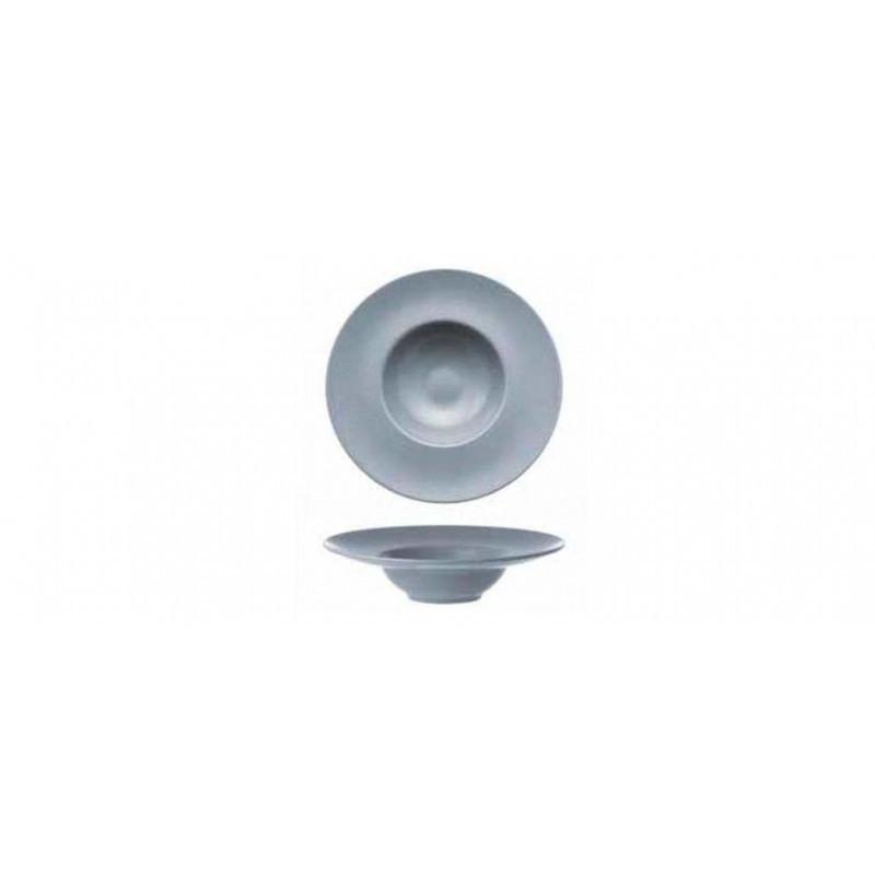 Piatto grigio pasta bowl cm 27