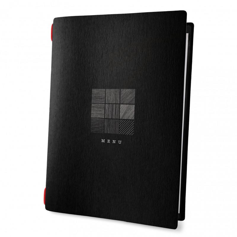 Custom A4 sign menu eco nero