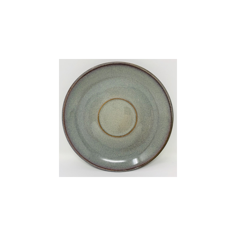 Piattino Stone Charm grigio cm 15
