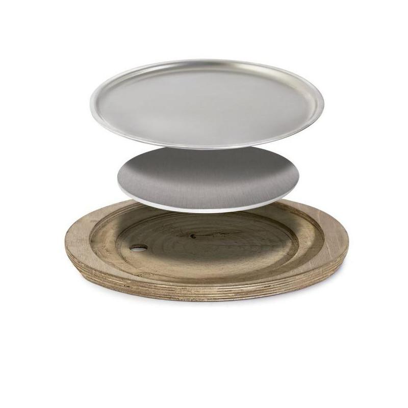 Piatto ovale cm 38x34 Celsius