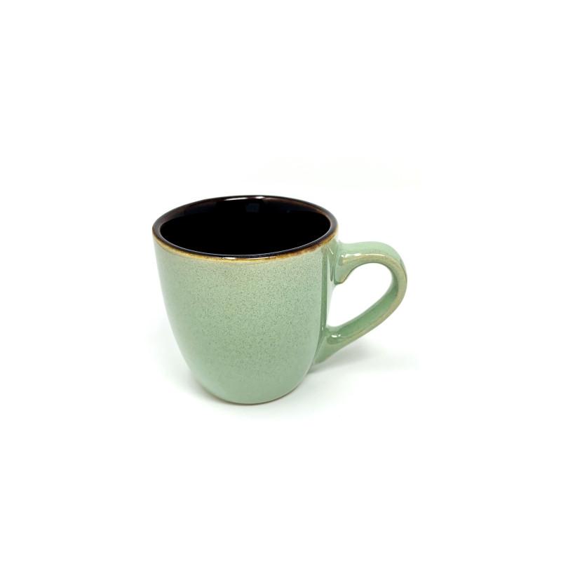 Tazza caffè Stone Charm verde  cl 9