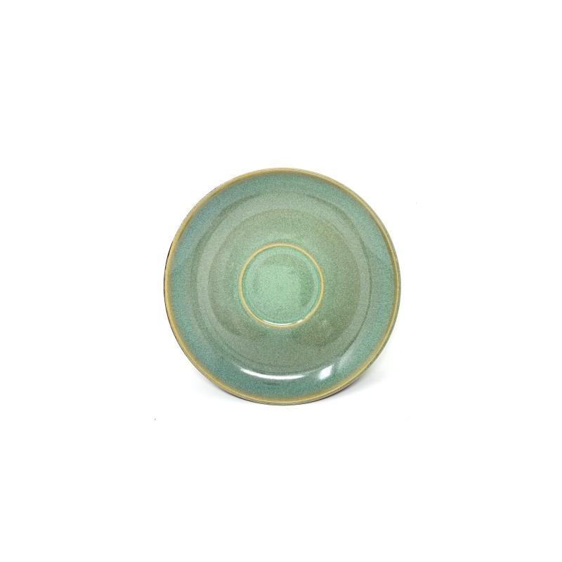 Tazza caffè Stone Charm verde cm 12