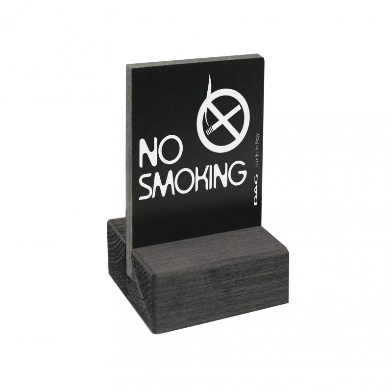 Pittogramma da appoggio no smoking 5,5x7,5