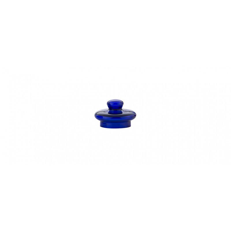 Coperchio blu per bicchiere da degustazione