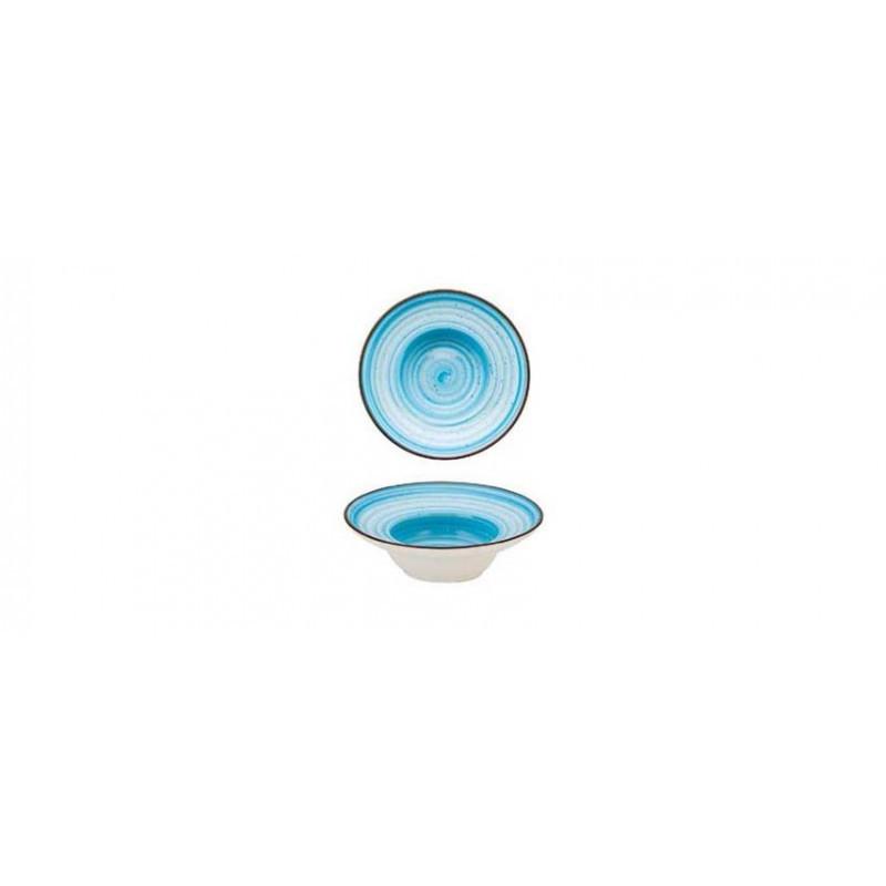 Minipastabowl tondo azzurro cm 13,9