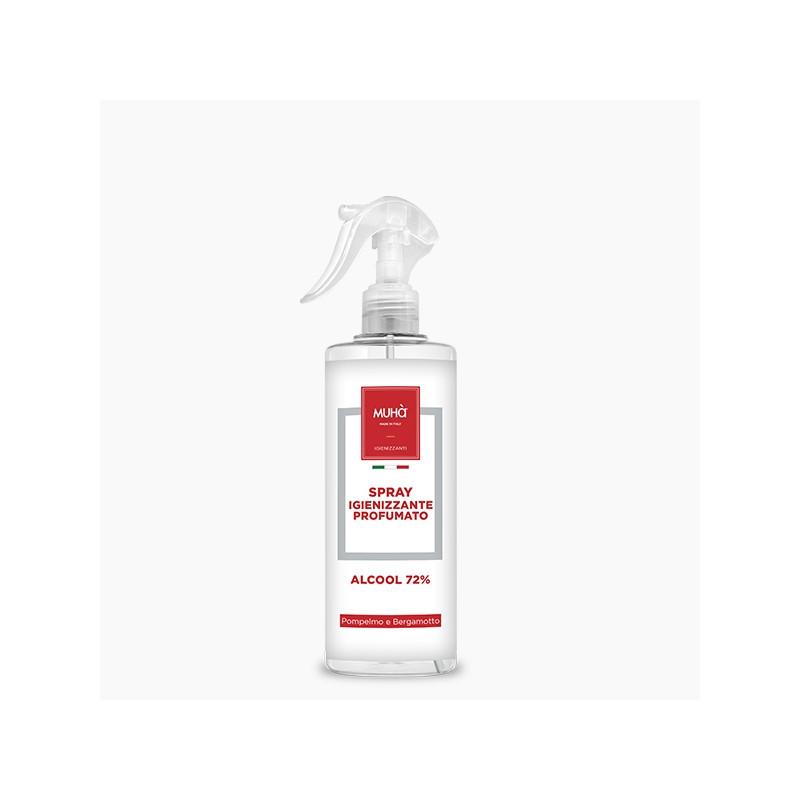 Spray igienizzante cl 50 pompelmo e bergamotto