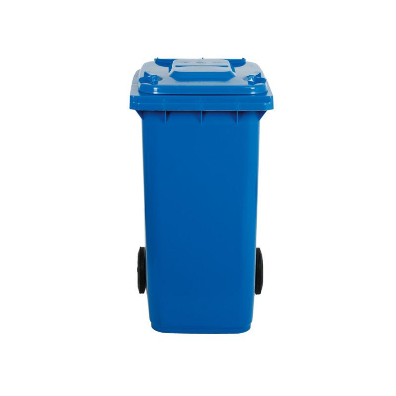 Bidone blu raccolta differenziata Lt 120