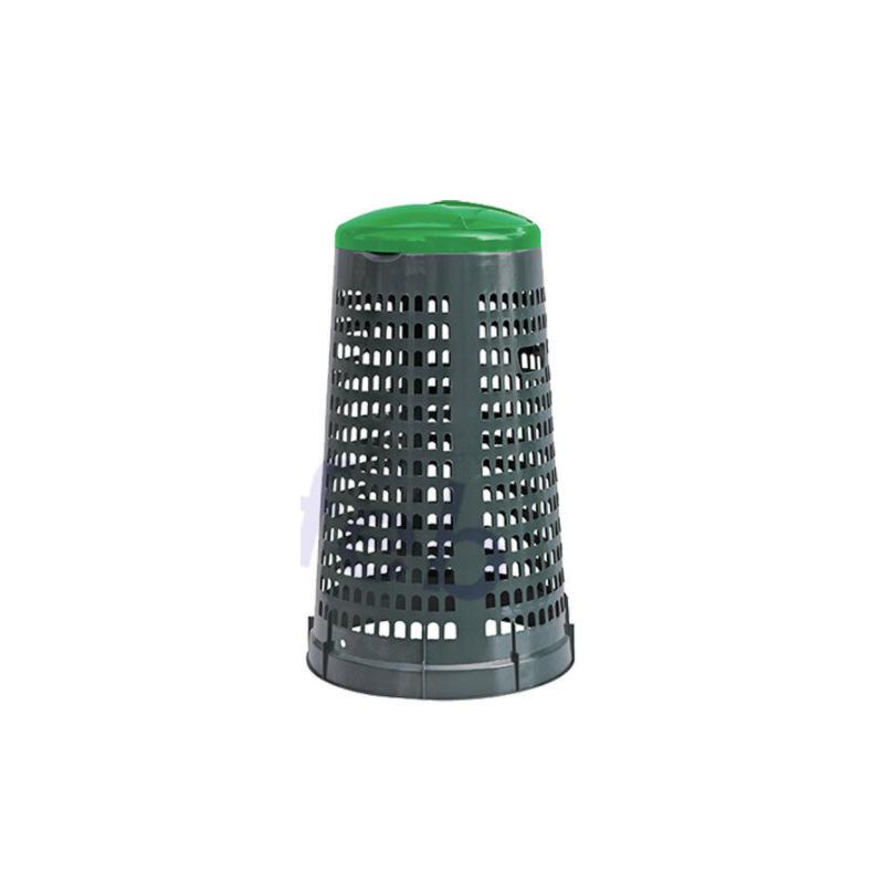 Trespolo portasacco verde Lt 110