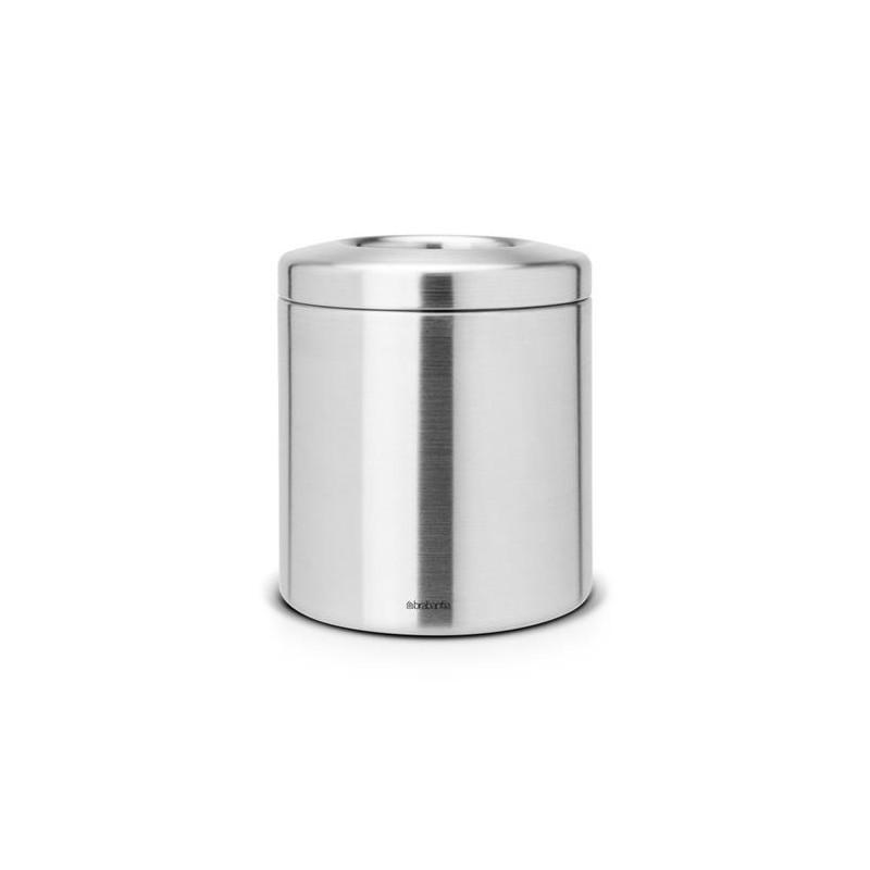 Cestino da tavolo matt steel 2,3 Lt