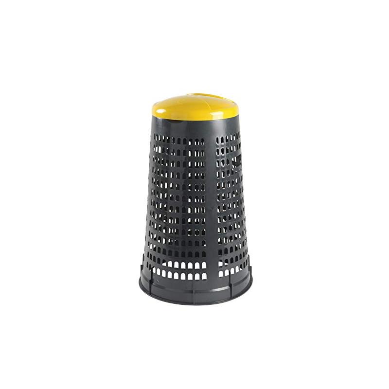 Trespolo portasacco giallo 110 Lt