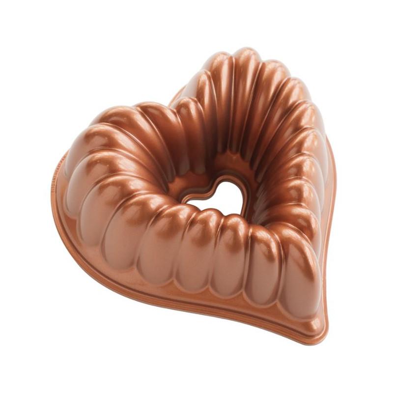 Stampo Bundt Elegant Heart Nordic Ware
