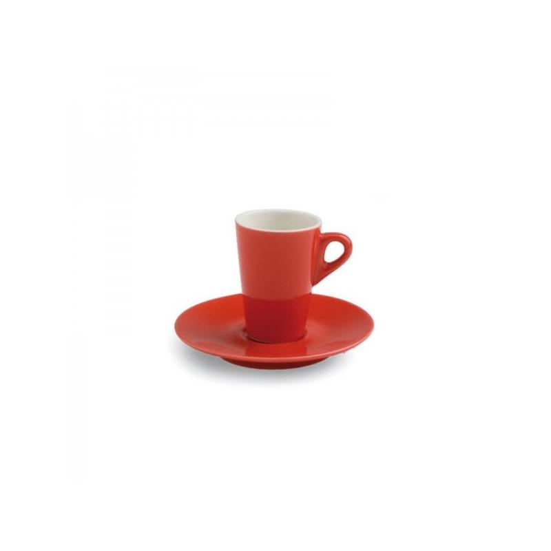 Tazza Caffe' con Piattino Cl 7 Mara Rosso